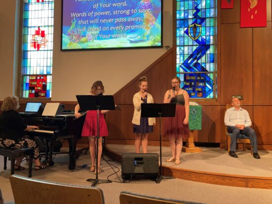 In-Person Worship (Sanctuary) @ First Presbyterian Church